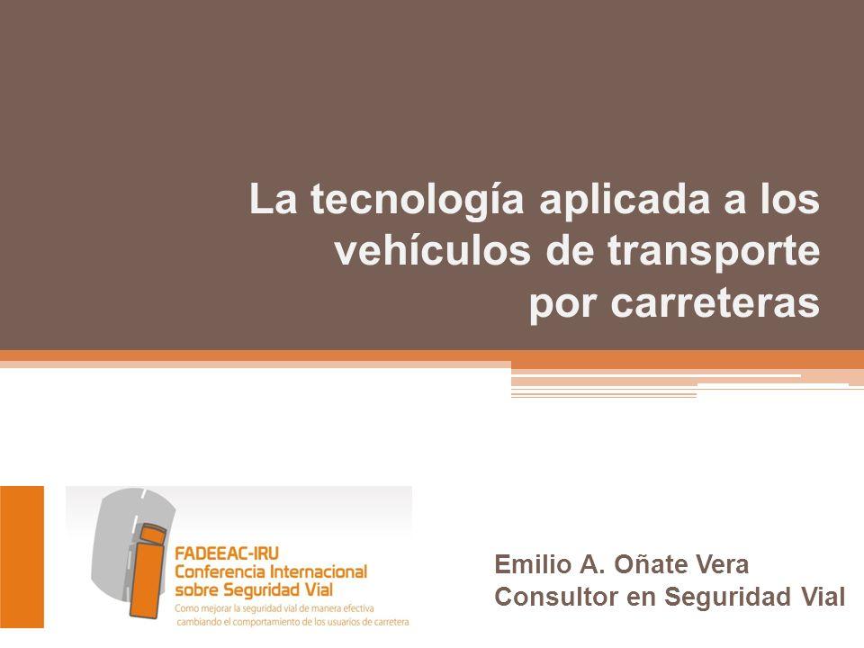 La tecnología aplicada a los vehículos de transporte por carreteras Emilio A.