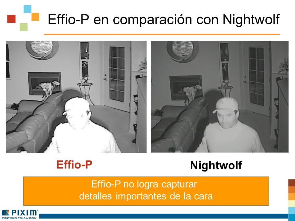 Samsung en comparación con Nightwolf La cámara SV-V es incapaz de capturar al intruso SCB-3001 Nightwolf