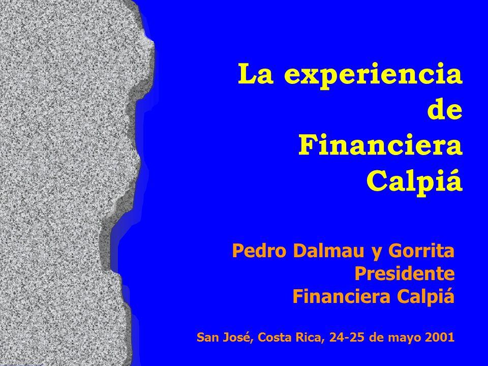 Productos Crediticios l Crédito para la Micro Empresa l Crédito Estacional l Crédito Automático l Crédito Agropecuario l Crédito para la Pequeña Empresa l Crédito para Mejoramiento de Vivienda