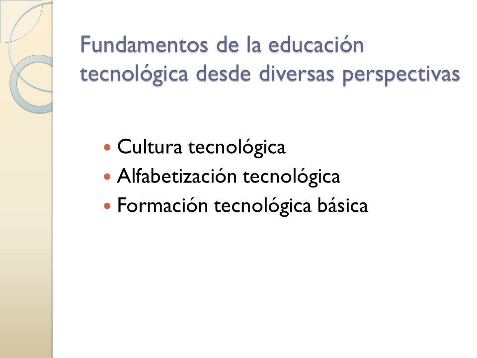 la cultura Tecnológica se refiere a: La información representacional, práctica o valorativa que comparten los miembros del grupo y que son potencialmente relevantes para la creación, producción, posesión o utilización de tecnologías… Modificado de Quintanilla 2005