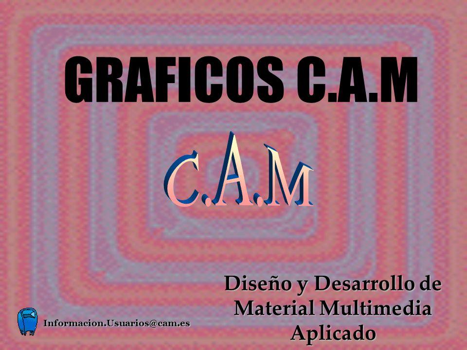 GRAFICOS C.A.M Diseño y Desarrollo de Material Multimedia Aplicado Informacion.Usuarios@cam.es