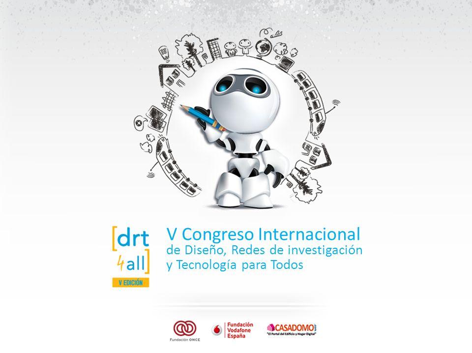 V Congreso Internacional de Diseño, Redes de investigación y Tecnología para Todos