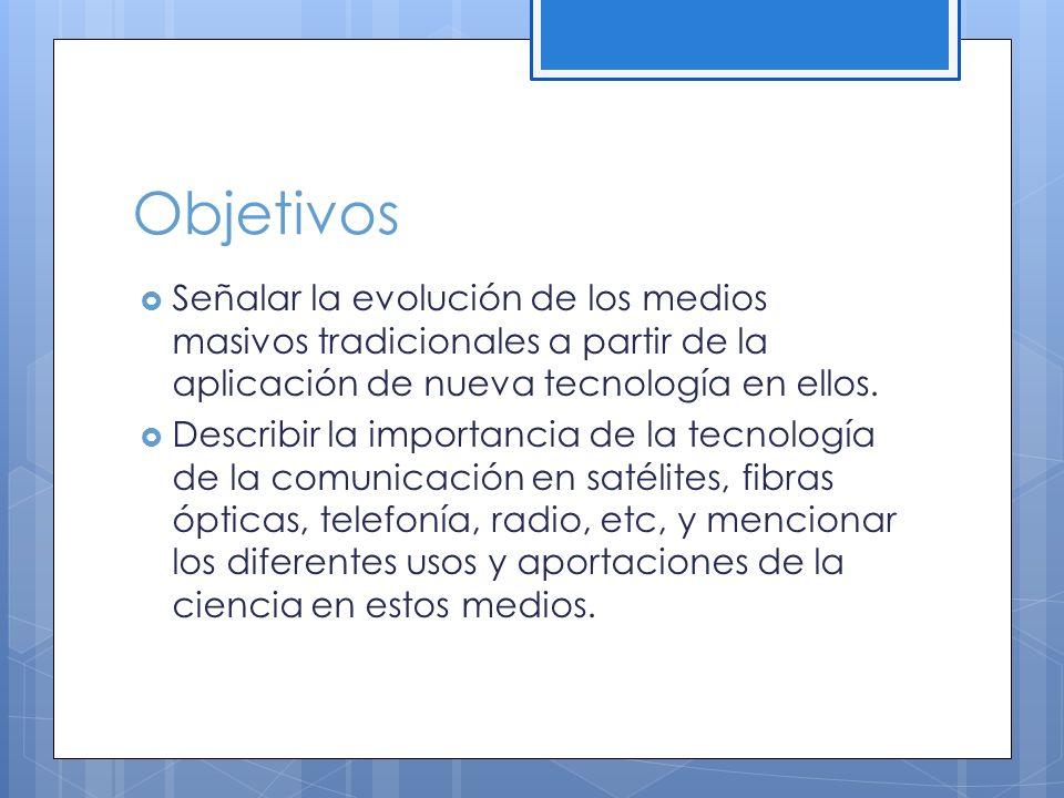 Objetivos Analizar los procesos de socialización de los medios a partir de las computadoras electrónicas y los usos que se pueden dar al correo electrónico y otros avances relacionados.