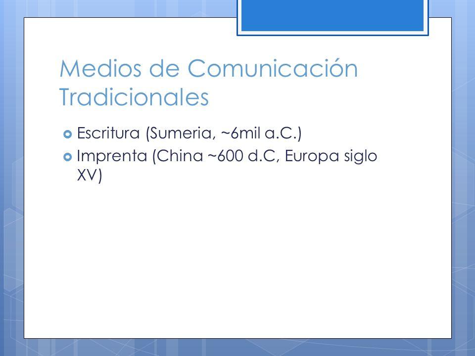 Satélites de Comunicación Las emisiones de televisión como medio para transmitir mensajes es que viajan en línea recta.