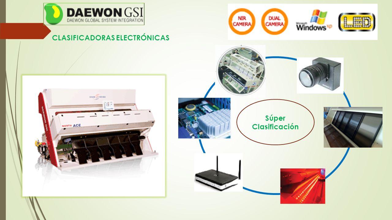 CLASIFICADORAS ELECTRÓNICAS Súper Clasificación