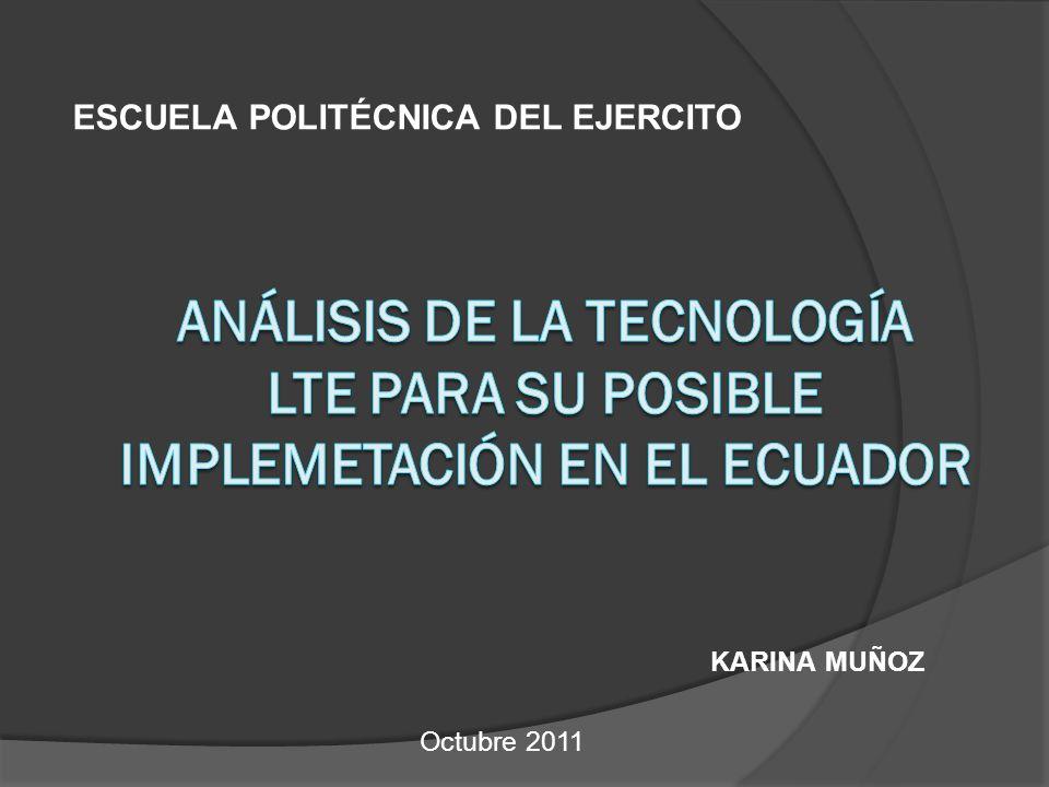 KARINA MUÑOZ ESCUELA POLITÉCNICA DEL EJERCITO Octubre 2011