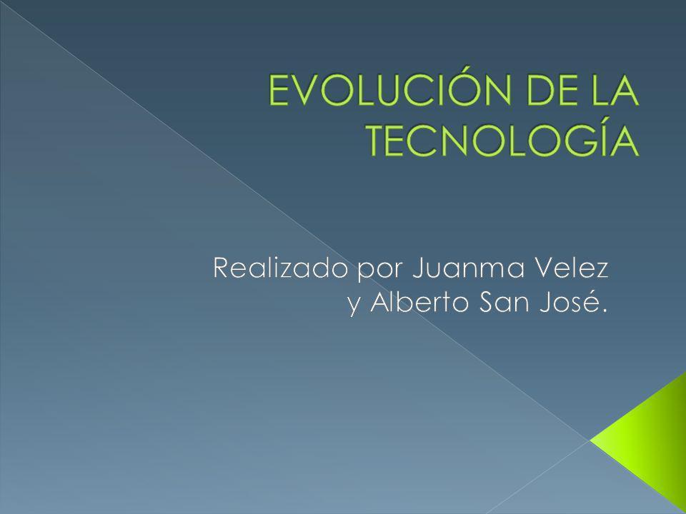 Revolución tecnológica.Evolución a través del tiempo.