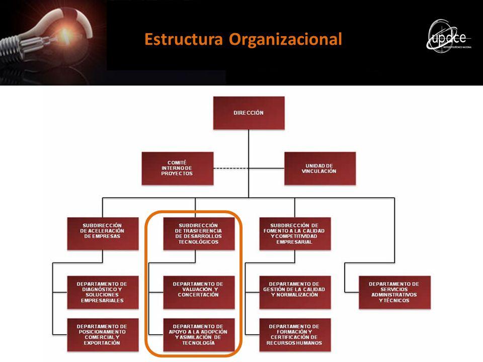 Servicios de la UPDCE Transferencia de Desarrollos Tecnológicos Protección y gestión de la Propiedad Intelectual.