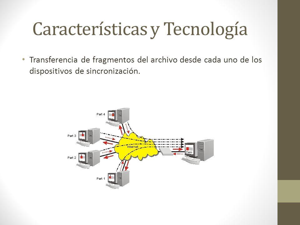 Características y Tecnología Los dispositivos se conectan directamente usando UDP, NAT traversal y mapeo de puertos UPnP.