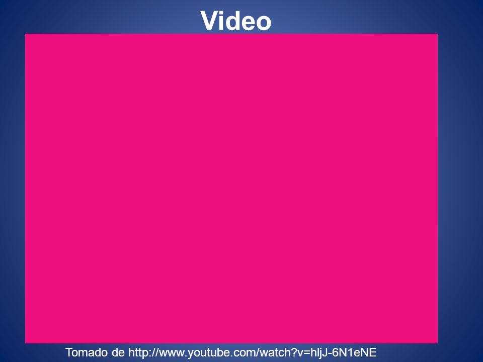 Video Tomado de http://www.youtube.com/watch?v=hljJ-6N1eNE