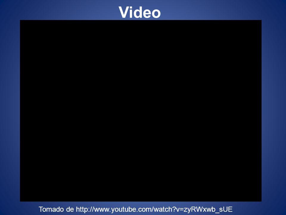 Video Tomado de http://www.youtube.com/watch?v=zyRWxwb_sUE