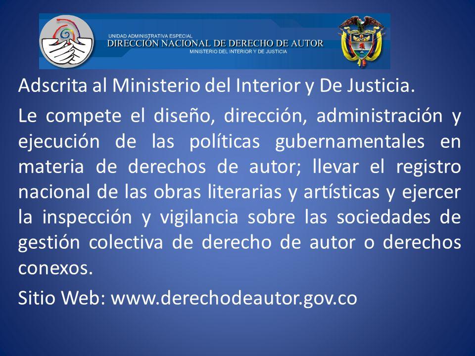 Adscrita al Ministerio del Interior y De Justicia. Le compete el diseño, dirección, administración y ejecución de las políticas gubernamentales en mat