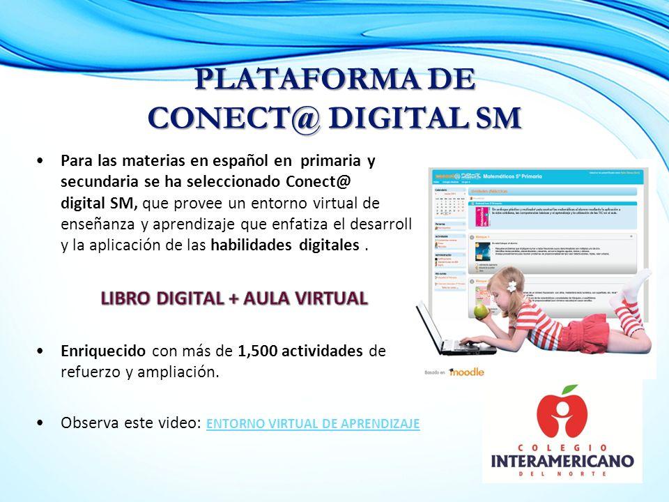 PLATAFORMA DE CONECT@ DIGITAL SM
