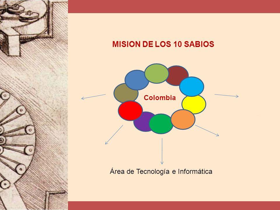 Área de Tecnología e Informática MISION DE LOS 10 SABIOS Colombia
