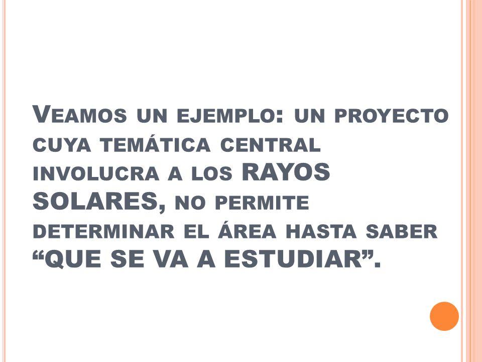 S I BUSCAMOS ESTUDIAR LA NATURALEZA DE LOS RAYOS SOLARES PARA ENTENDER COMO ACTÚAN SOBRE EL SER HUMANO.