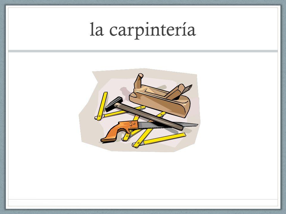 la carpintería