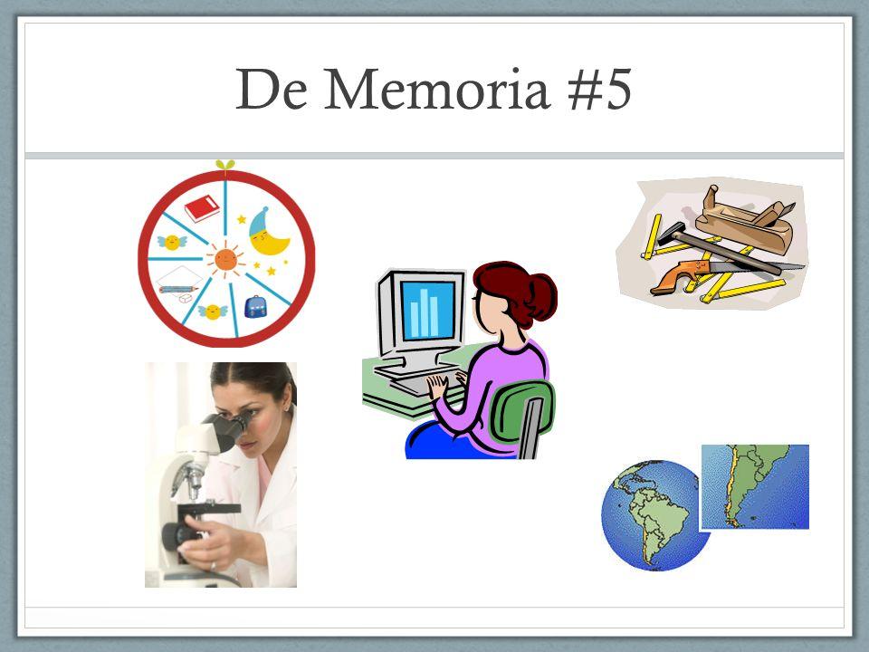 De Memoria #5