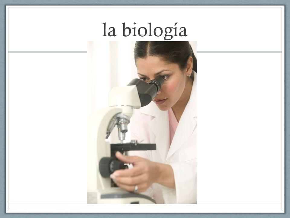 la biología