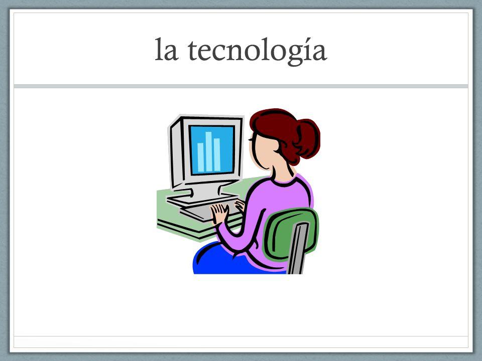 Las Respuestas biology – la biología geography- la geografía woodworking- la carpintería technology/computers- la tecnología schedule- el horario