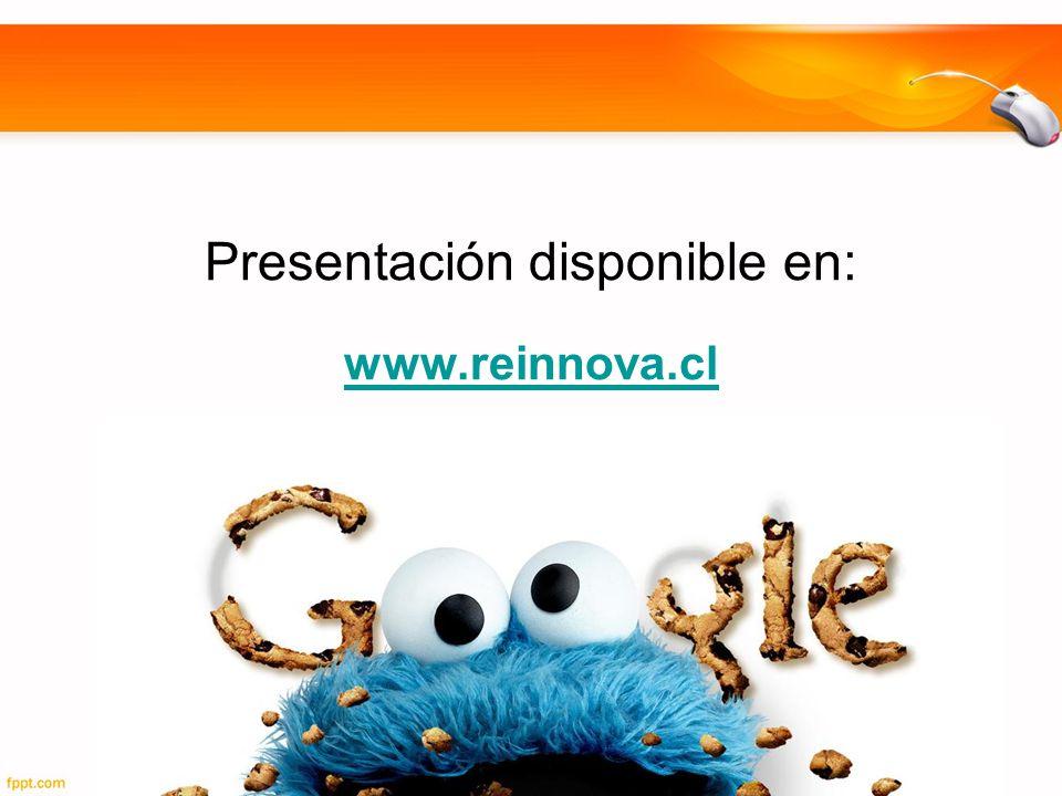 Presentación disponible en: www.reinnova.cl www.reinnova.cl
