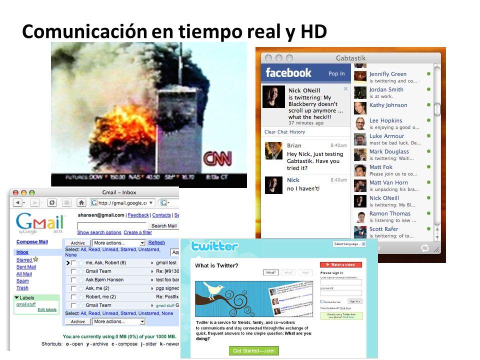 Comunicación en tiempo real y HD
