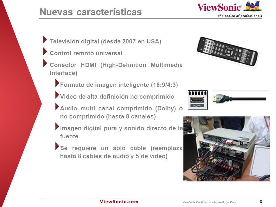 ViewSonic Corporation, Confidential Information 9 ¿Por qué escoger un proyector.