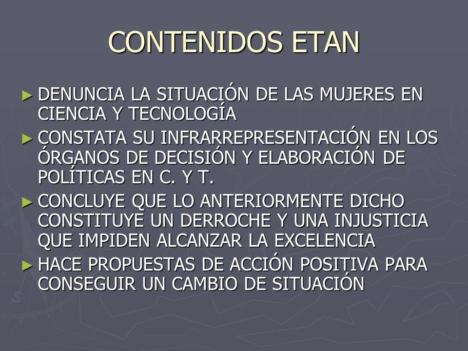 ASAMBLEA EUROPEA DE LAS CIENCIAS Y DE LAS TECNOLOGÍAS (1994) COMITÉ CONSULTIVO DE INVESTIGACIÓN Y DESARROLLO INDUSTRIAL 40 UNICE20 MESA REDONDA EUR.