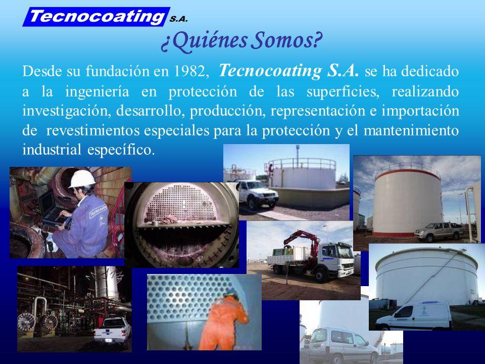 Desde su fundación en 1982, Tecnocoating S.A. se ha dedicado a la ingeniería en protección de las superficies, realizando investigación, desarrollo, p