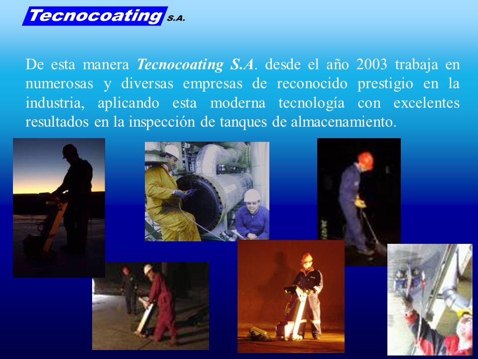 De esta manera Tecnocoating S.A. desde el año 2003 trabaja en numerosas y diversas empresas de reconocido prestigio en la industria, aplicando esta mo