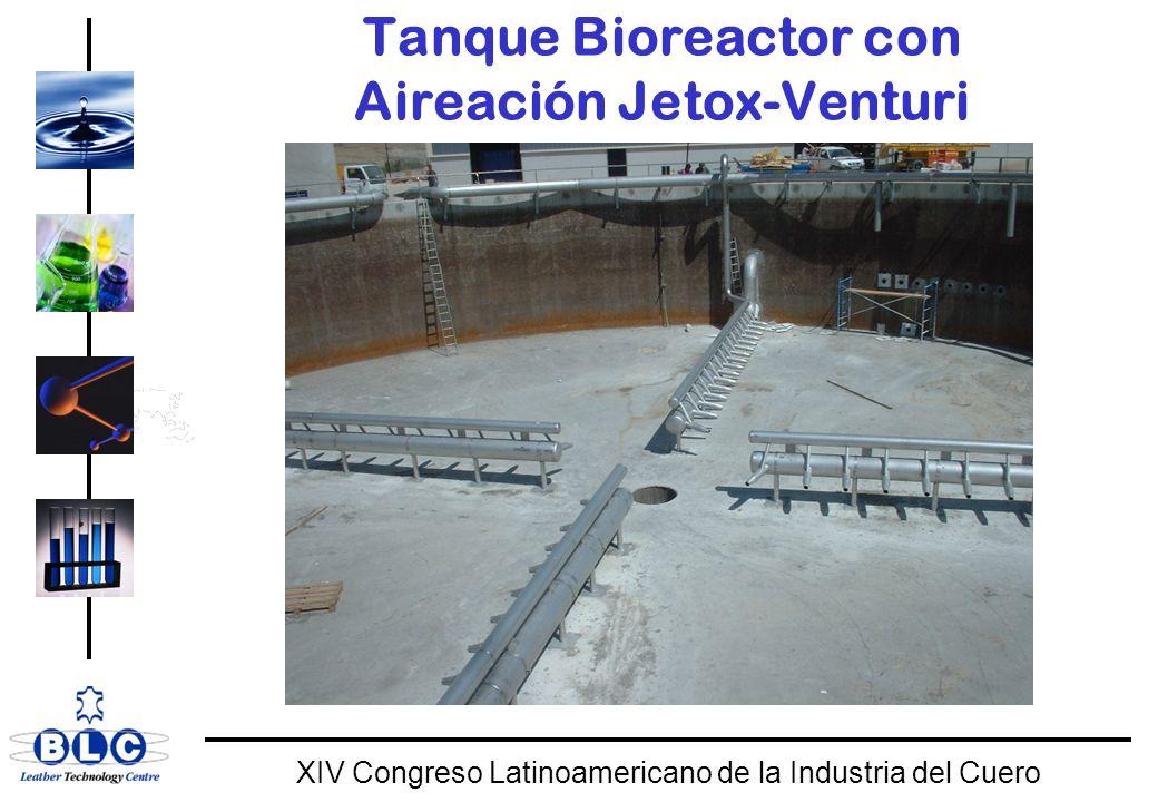 WORLD CLASS XIV Congreso Latinoamericano de la Industria del Cuero Tanque Bioreactor con Aireación Jetox-Venturi