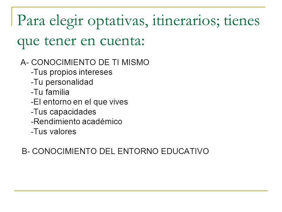 OTRAS OPCIONES E.SECUNDARIA EN ADULTOS.