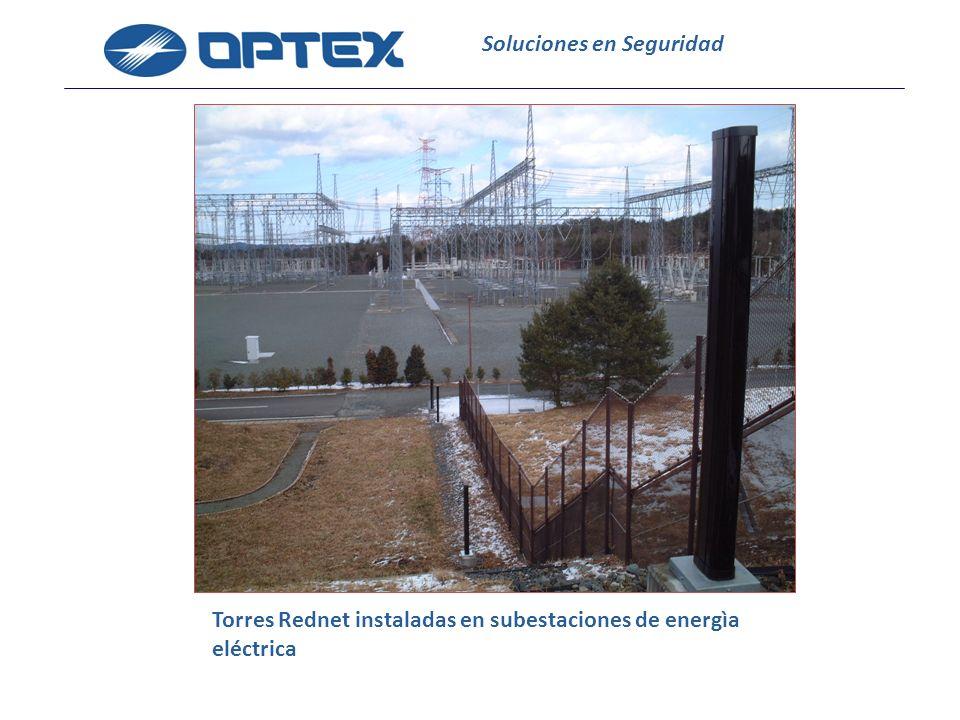 Soluciones en Seguridad Torres Rednet instaladas en subestaciones de energìa eléctrica