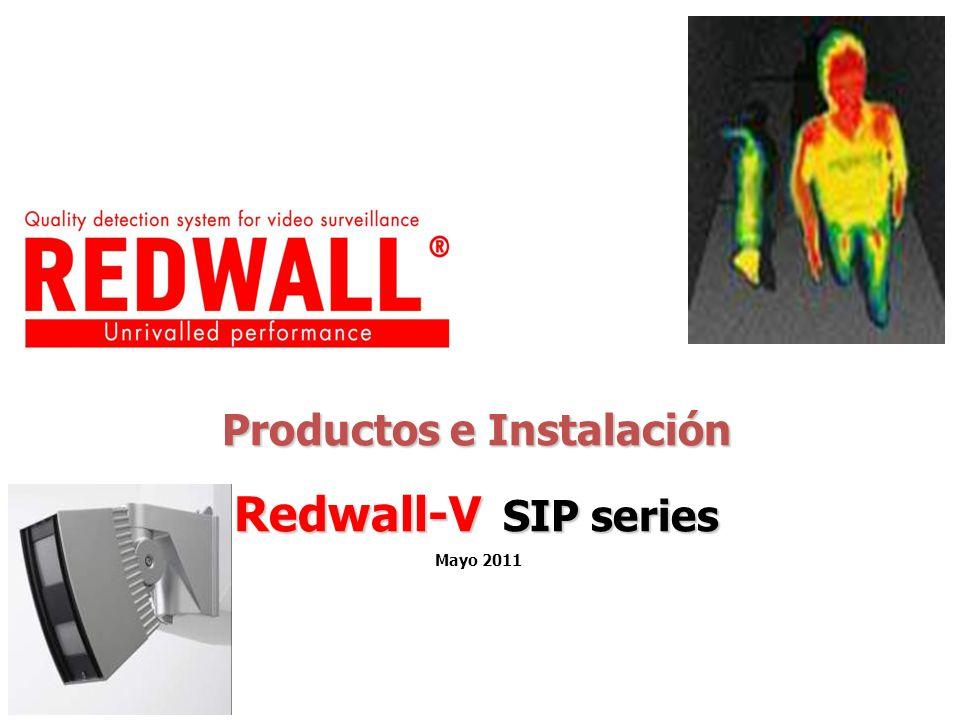 Productos e Instalación Redwall-V SIP series Mayo 2011