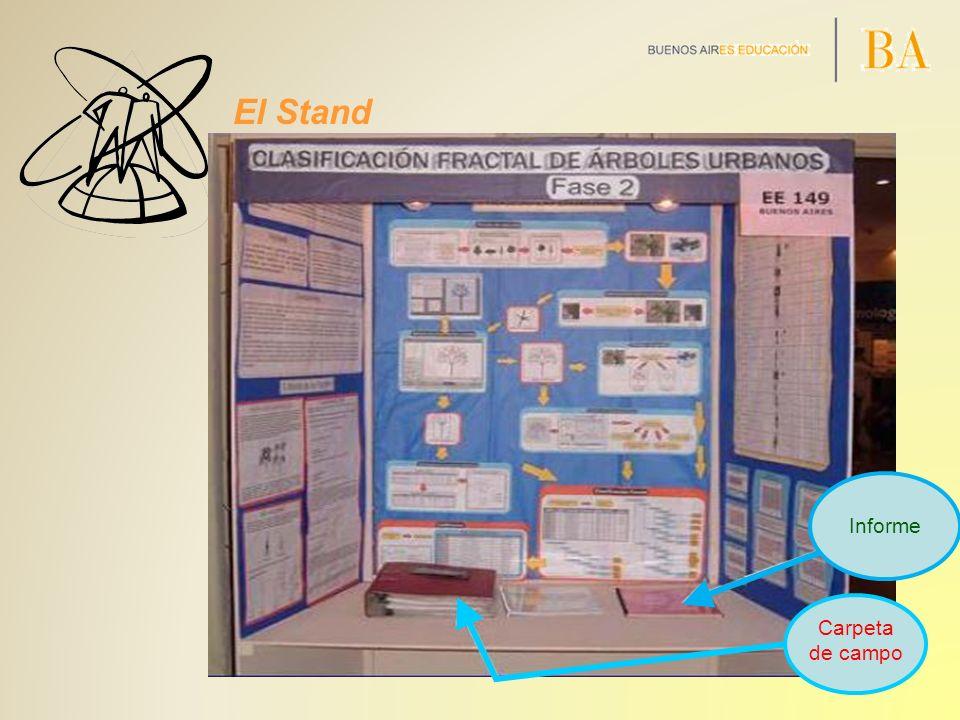 El Stand Carpeta de campo Informe