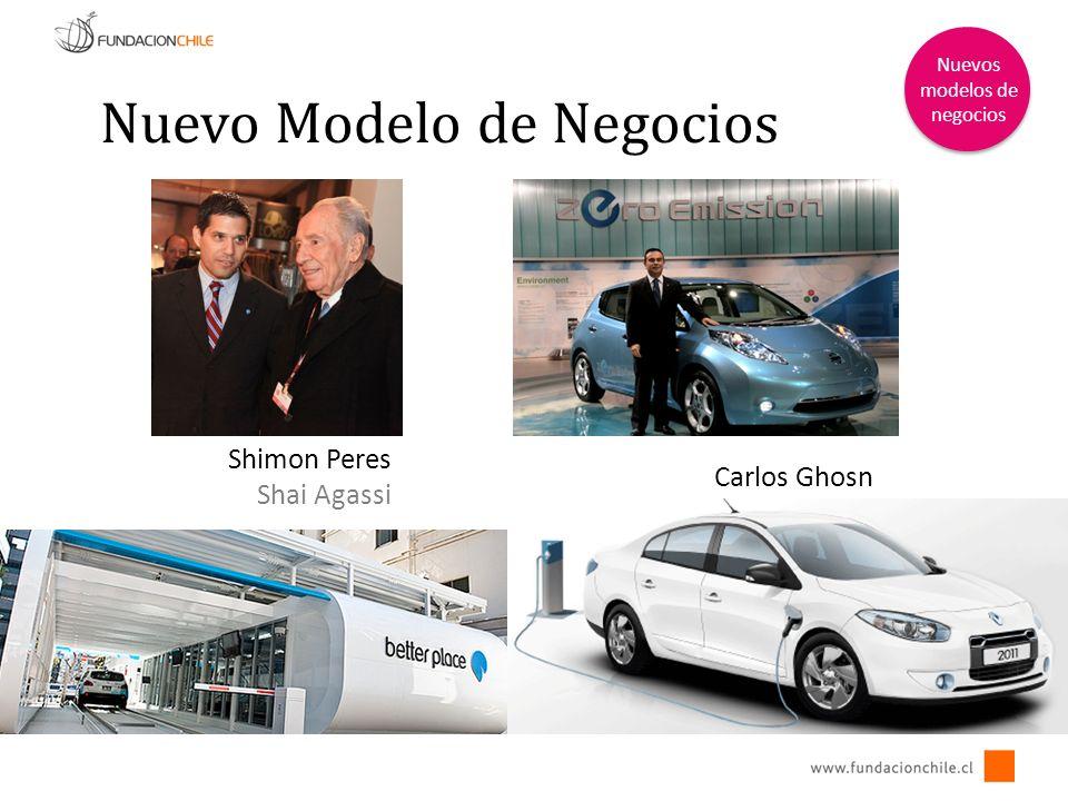 Nuevo Modelo de Negocios Nuevos modelos de negocios Shimon Peres Shai Agassi Carlos Ghosn