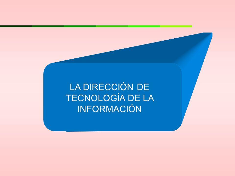 LA DIRECCIÓN DE TECNOLOGÍA DE LA INFORMACIÓN