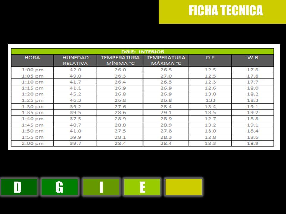 DGIE FICHA TECNICA