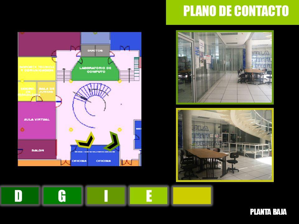 DGIE PLANO DE CONTACTO PLANTA BAJA