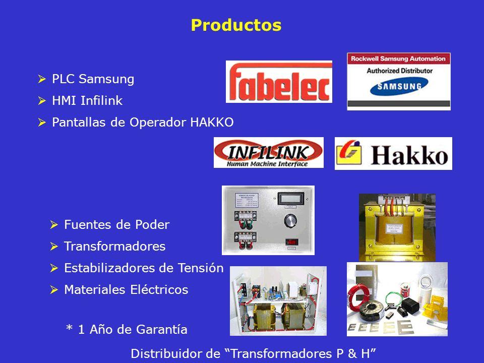 Productos Fuentes de Poder Transformadores Estabilizadores de Tensión Materiales Eléctricos Distribuidor de Transformadores P & H * 1 Año de Garantía