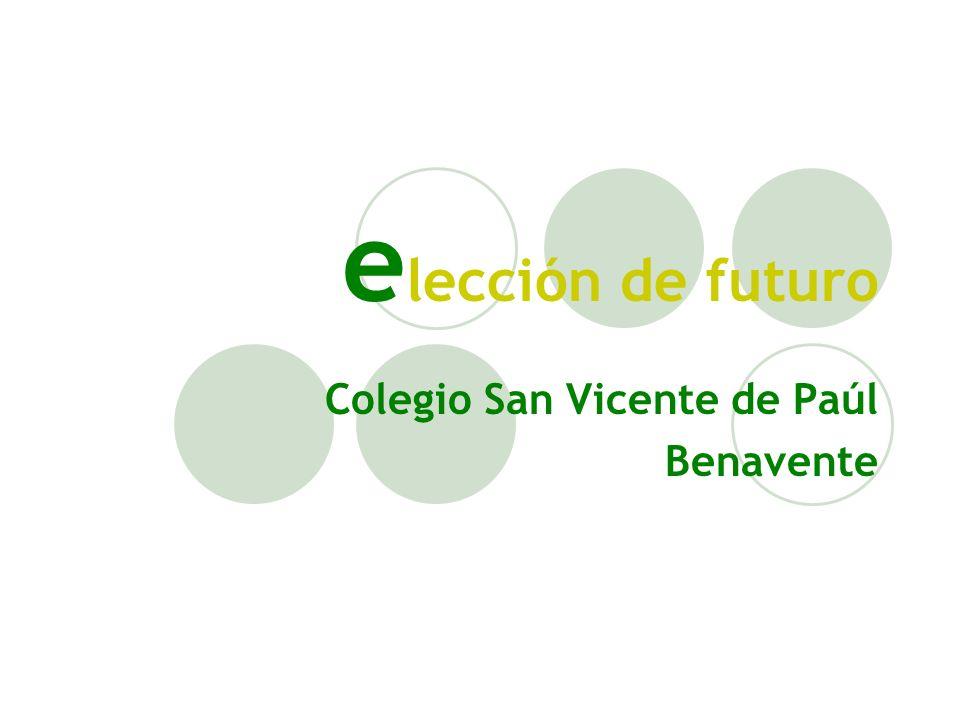 e lección de futuro Colegio San Vicente de Paúl Benavente