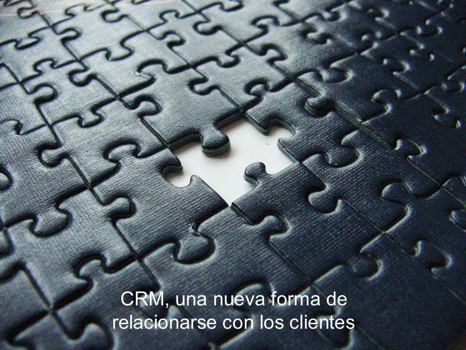 CRM, una nueva forma de relacionarse con los clientes