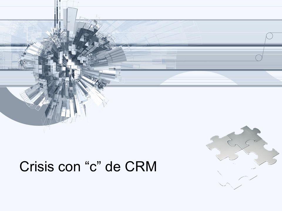 Crisis con c de CRM