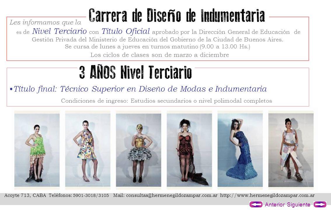 Acoyte 713, CABA Teléfonos: 5901-3018/3105 Mail: consultas@hermenegildozampar.com.ar http://www.hermenegildozampar.com.ar SiguienteAnterior