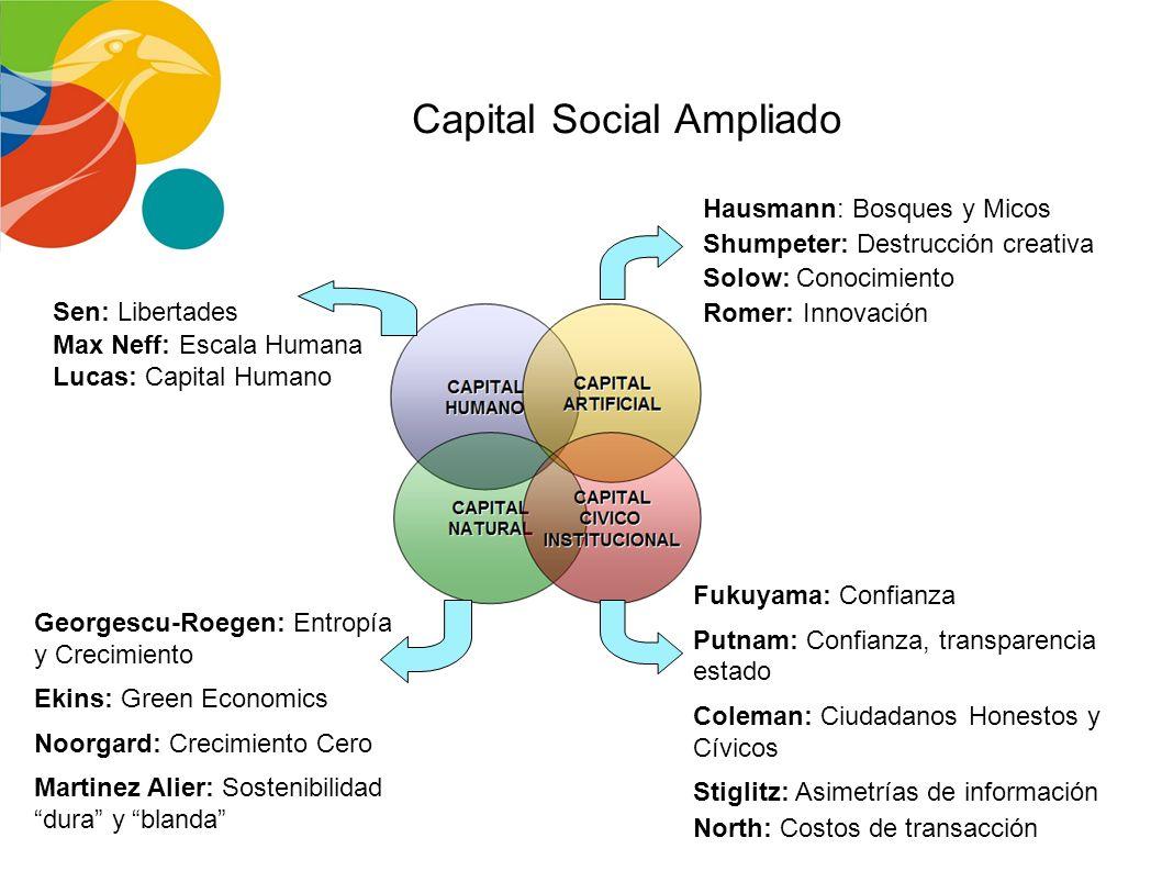 LA NUEVA TEORÍA DEL DESARROLLO Ingreso Nacional (Crecimiento Económico) = Función (Capital Monetario + Mano de Obra + Recursos Naturales) + CAMBIO TÉC