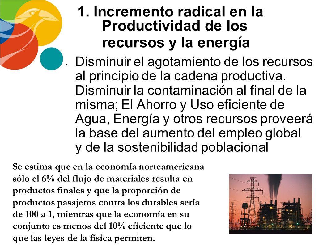 Estrategias para la sostenibilidad Un elemento crucial de la nueva dinámica social y revolución industrial, bajo una aproximación de sostenibilidad es