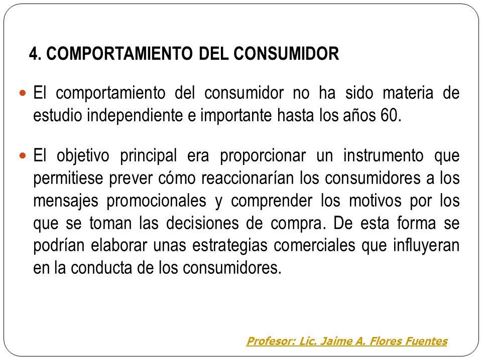 4. COMPORTAMIENTO DEL CONSUMIDOR Todos y todas adquirimos numerosos productos que implican un esfuerzo económico, de tiempo, de recursos, etc. ¿Por qu