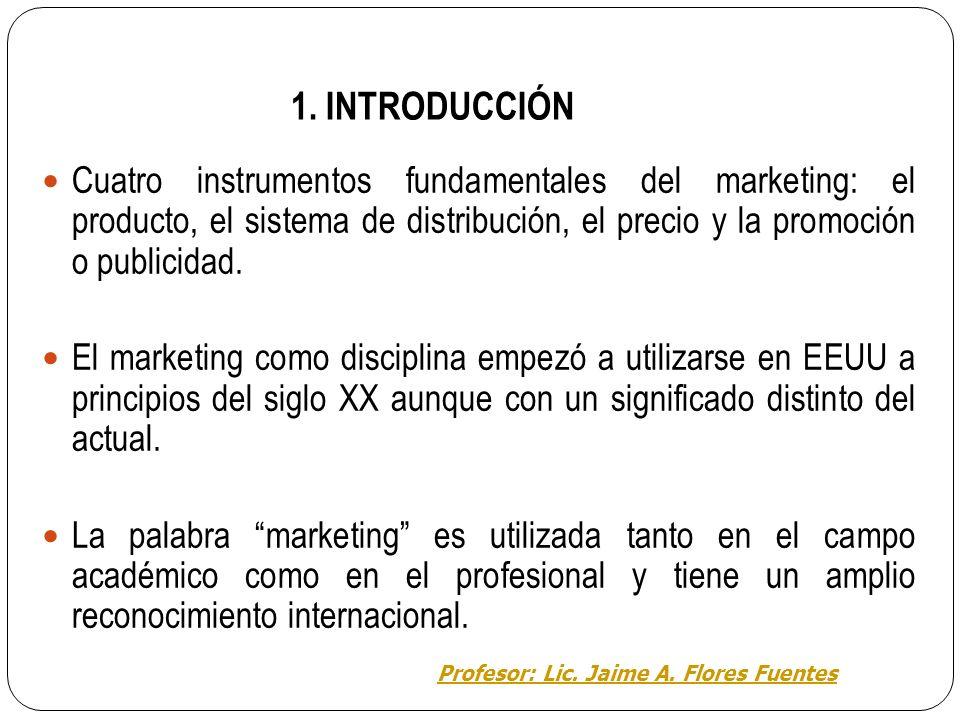 El marketing aporta una forma distinta de concebir y ejecutar la función comercial o relación de intercambio entre dos o más partes (Santesmases, 1996