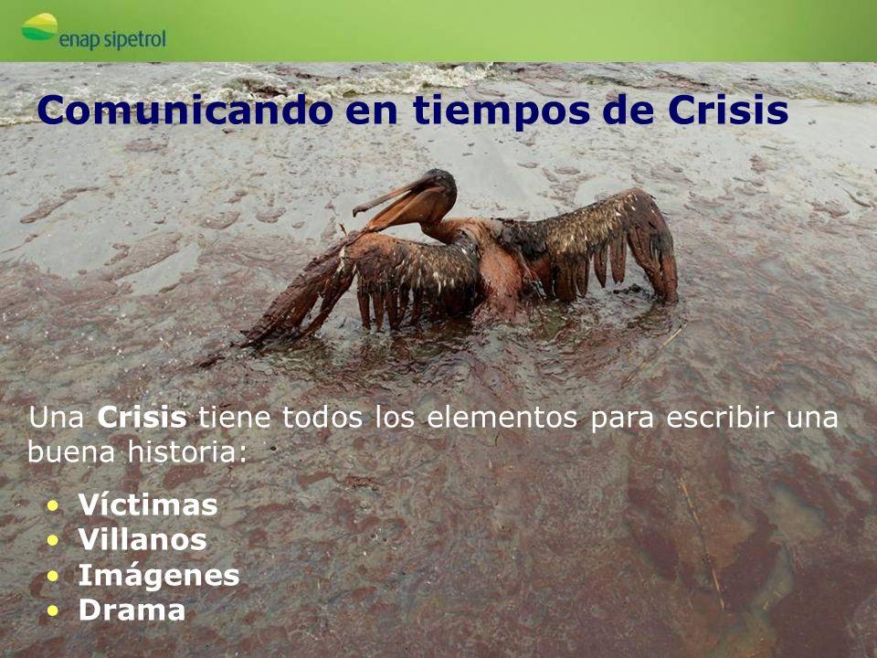 Una Crisis tiene todos los elementos para escribir una buena historia: Víctimas Villanos Imágenes Drama Comunicando en tiempos de Crisis
