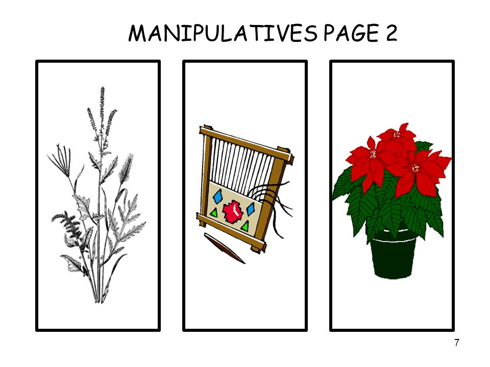 7 MANIPULATIVES PAGE 2