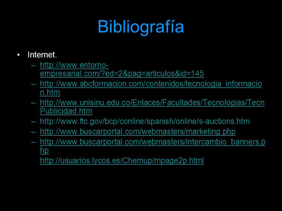Bibliografía Internet. –http://www.entorno- empresarial.com/?ed=2&pag=articulos&id=145http://www.entorno- empresarial.com/?ed=2&pag=articulos&id=145 –